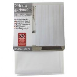 Rouleau adhésif décoratif 45cm x 2m roses sur blanc
