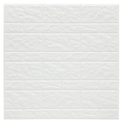 Frise listel Relieve Cortina Blanche 20 x 10 cm