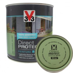 Lot de 3 paniers tressés rectangulaires