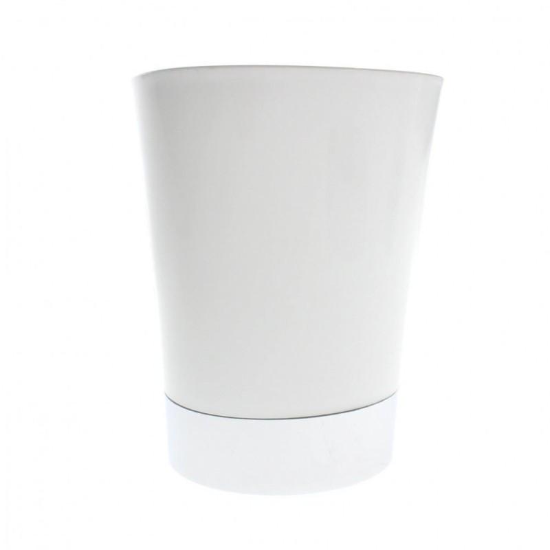 Rouleau adhésif décoratif 45cm x 2m fleurs argents