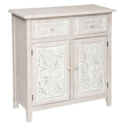 2 Gant De Toilette 15 x 21cm Vert Canard Tissu Eponge